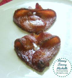 How to Make Bacon Hearts
