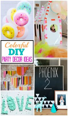 Colorful DIY Party D