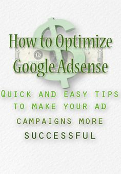 How to Optimize Google AdSense