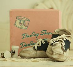 Baby Shoes Vintage Saddle Oxfords 38