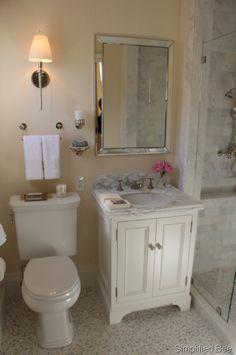 pretty marble bath