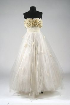 The iconic dress worn by Elizabeth Taylor in 1951's 'A Place in the Sun', designed by Edith Head,