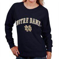 Notre Dame Fighting Irish Ladies Classic Crew Sweatshirt