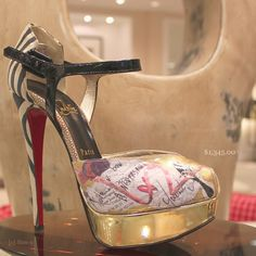 The best Christmas gift ♥ Christian Louboutin discount site!!
