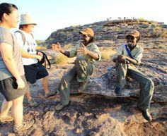 Njanjma Rangers delight visitors at Ubirr