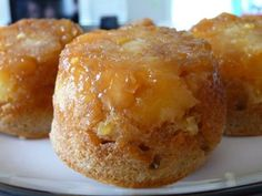 Pineapple Upside Down Muffins.