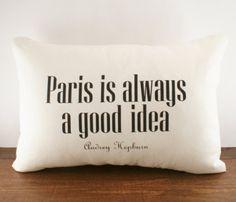 Paris Cushion Cover
