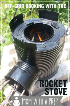 Mom with a PREP | What is it like to cook a meal in about 3 minutes with only sticks and twigs? Check out my review of the Rocket Stove -- an amazing piece of equipment that is easy to use and that you do not have to chop down a tree to use!
