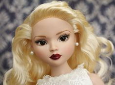 Tonner Ellowyne Wilde Woe and Whimsy partial repaint doll with Brown Glass Eyes *enchanted*