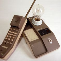 1980's AT Phone Lamp
