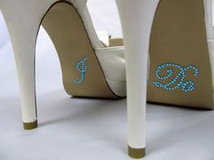 Hey, I found this really awesome Etsy listing at https://www.etsy.com/listing/95211575/i-do-shoe-stickers-aqua-rhinestone-i-do