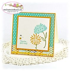 Stampin Up Simple Stems for Stamping and Blogging