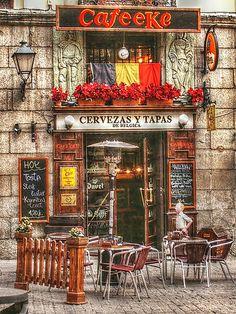 Calle Cava de San Miguel.Madrid  Spain