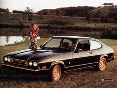 The Ford Capri - beloved throughout Britain during the 1970s and 80s. An iconic car. I remember I wanted one of these back in the day