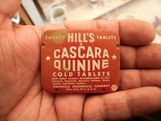 Cascara Quinine. by Draplin, via Flickr