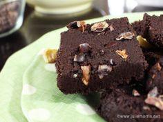 No bake vegan brownies