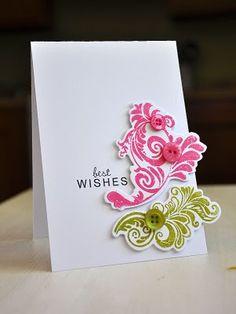 card idea, crafti stuff, swirl, craft idea, papertrey ink