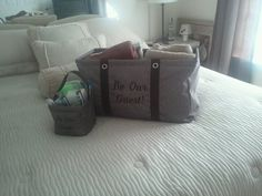 "Littles Carry-All Caddy & Large Utility Tote.... ""Be Our Guest!"" What a neat idea! I so need to do this for my house."