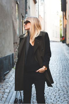 black on black.