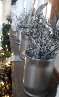 The Shabby Nest: Faux Mercury Glass tutorial and a Last Minute Neighbor Gift Idea~