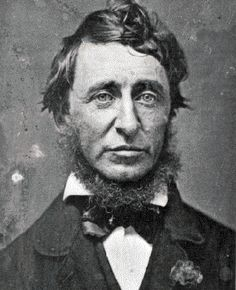 Henry David Thoreau.  (Name dropper....my 5th cousin!)