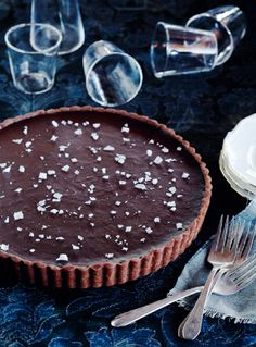 Chocolate Sea Salt Tart