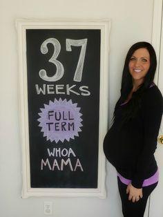 ........... chalkboard pregnanc, chalkboards, babi bump, pregnancy photos, photo props, bump photos, 37 week, belly photos, babi garvin