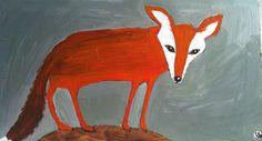orange fox by oswald flump, via Flickr