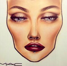 face charts mac, mac face charts, realist face, facechart, chart inspir