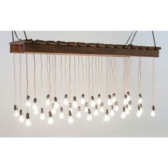 Edison Bulb Chandelier | rrivre works // Pretty much the most beautiful thing in the world.