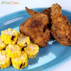 Cold Fried Chicken by Carla Hall! #TheChew