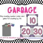 "Practice skip counting and number order with this card game. The object is to get the number cards in order first. Try not to get ""garbage"" by draw..."