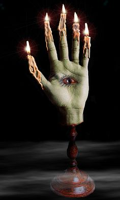 Hand of Glory candle