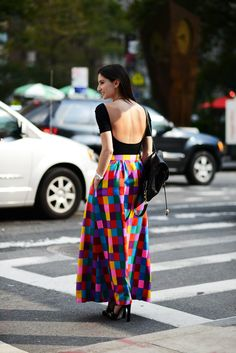 The Locals in New York #street-style #fashion #style #trends