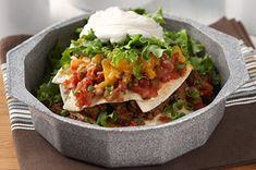 Easy Layered Taco Pie Recipe - Kraft Recipes