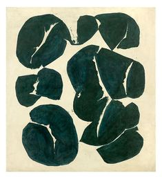 Simon Hantaï Meun, 1968 oil on canvas #jeffreyalanmarks #JAM #homedecor