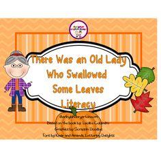 share kindergarten, fall, read, leav freebi, swallow, leaves, school idea, classroom freebi, old ladies