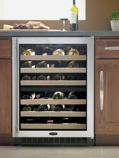 With zones for both red and white wine, a dedicated wine fridge is designed to store your prized bottles at optimal conditions.