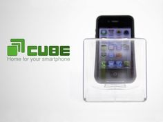 Cube: Home for your iPhone+Android. by KCI, via Kickstarter.