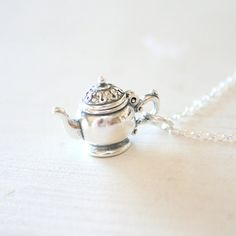 The Openable Sterling Silver Teapot
