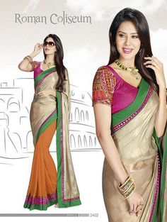 half saree online