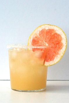 Sweet-and-Salty Grapefruit Gimlet