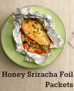 Honey-Sriracha Chicken Foil Packet