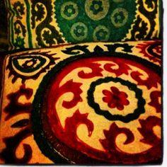 #pillow #lush #teal #magenta #boho #home pillow