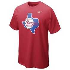 Texas Rangers Cooperstown Dugout Tee by Nike