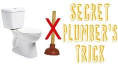 Plumbers Trick to Unclog a Toilet