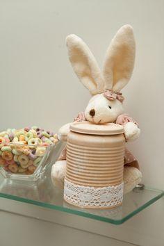 Reciclaje de estaño para la Pascua