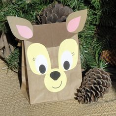 Deer Treat Sacks  Woodland Forest Fawn Hunter Theme by jettabees, $15.00
