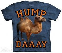 Cascade Hump Day T-Shirt at theBIGzoo.com, a family-owned toy store.