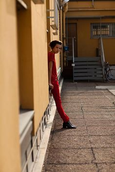 On the Street… Little Red, Milan